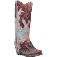 All Eyes On Me Leather Women's Western Boot