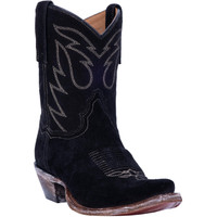 Standing Room Only Black Women's Suede Boot