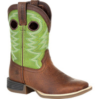 Durango Kids Lil' Rebel Pro Lime Green Western Boot