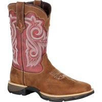 Durango Lady Rebel Pro Rusty Red Western Boot
