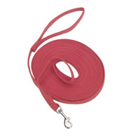 Cotton Web Dog Training Leash 30 ft