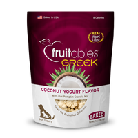 Fruitables Coconut Greek Yogurt Dog Treats