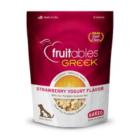 Fruitables Strawberry Greek Yogurt Dog Treats