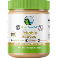 Lickable Actives Peanut Butter - Hip and Joint Discomfort 16oz