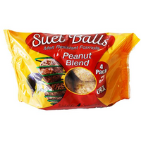 Wildlife Sciences Suet Balls Peanut Blend 4 pack