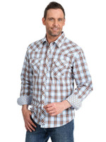 Wrangler Mens 20X Advanced Comfort Snap Shirt