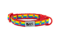 RCPets Breakaway Rainbow Paws Cat Collar