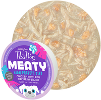 Tiki Dog Meaty Chicken with Egg in Broth Dog Food