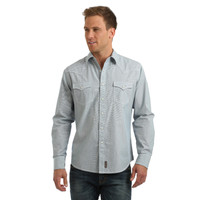Wrangler Retro Railroad Stripe Premium Mens Shirt
