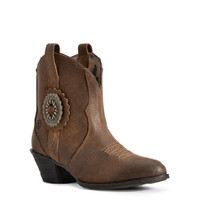 Ariat Brown Suede Cantina Women's Western Boot