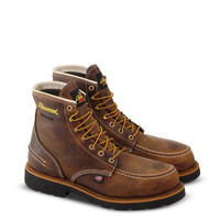 "Thorogood Crazyhorse 6"" Steel Toe Waterproof Mens Work Boot"
