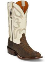 Tony Lama Zachary Barnwood Caiman Men's Western Boot