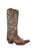 Corral Women's Iridescent Glitter Inlay Western Boot