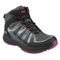 Northside Women's Gamma Mid Waterproof Hiking Boot - Dark Grey/Wine
