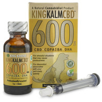 King Kalm CBD Oil 600mg for Dogs