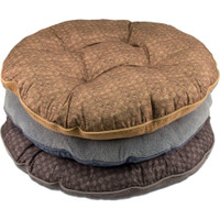 Cozy Pet Round Reverse Plaid - Assorted Colors