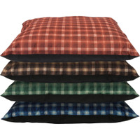 Cozy Pet Kennel Bed Plaid Assorted Colors