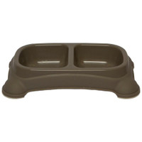 Double Diner Dish - Taupe Gray