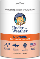 Under the Weather L-Lysine for Cats, 60 Count