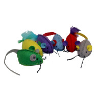Multi Stitched Mice 6pk