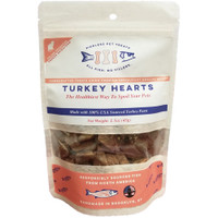 Pierless Pets Freeze Dried Turkey Hearts cat Treats, 1.5oz