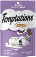Temptations Creamy Dairy Flavor Cat Treats, 3 oz
