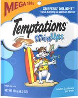 Temptations Mixups Surfers' Delight Cat Treats, 6.35 oz
