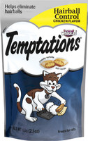Temptations Hairball Control Chicken Flavor Cat Treats, 2.1 oz