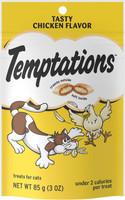 Temptations Tasty Chicken Flavor Cat Treats, 3 oz