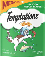 Whiskas Temptations Seafood Medley Cat Treats, 6.35 oz.