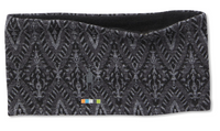 Smartwool Merino 250 Reversible Headband, Black Medallion