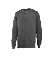 Men's Walden Long Sleeve Henley, Granite Heather