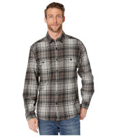 Wolverine Glacier Long Sleeve Flannel Shirt - Onyx Plaid