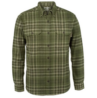 Wolverine Glacier Long Sleeve Flannel Shirt - Olive Plaid