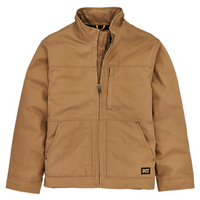 Men's Timberland PRO® Baluster Insulated Canvas Work Jacket - Dark Wheat