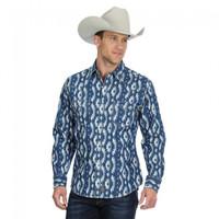 Wrangler Men's Long Sleeve Retro Premium - Indigo
