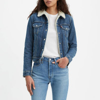 Levi's® Women's Brick & Mortar Original Trucker Jacket - Medium Wash