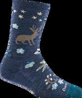 Darn Women's Folktale Socks - Denim