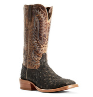 Ariat Men's Showman Ostrich - Wheat