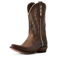 Ariat Women's Tailgate Western Boot - Weathered Rust