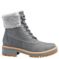 Timberland Women's Courmayeur Valley 6-Inch Waterproof Boots - Grey Nubuck