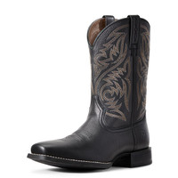 Ariat Men's Sport Herdsman Western Boot - Black