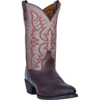 Laredo Men's Birchwood Leather Boot - Two Tone Chocolate