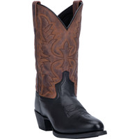 Laredo Men's Birchwood Leather Boot - Black/Tan
