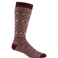 Wigwam Rorvik Maroon Socks