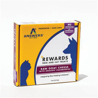 Answers Rewards Goat Cheese with Cranberries Dog Treats 8oz