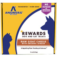 Answers Rewards Goat Cheese with Ginger Dog Treats 8oz