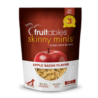Fruitable Skinny Mini Apple Bacon Dog Treats 5oz