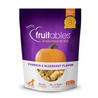 Fruitable Skinny Mini Pumpkin & Blueberry Dog Treats 5oz