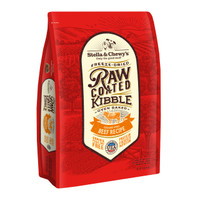 Stella and Chewy's Grass-Fed Beef Raw Coated Kibble 10lbs